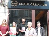 Boutique solidaire sushi creation maman je t aime 2016