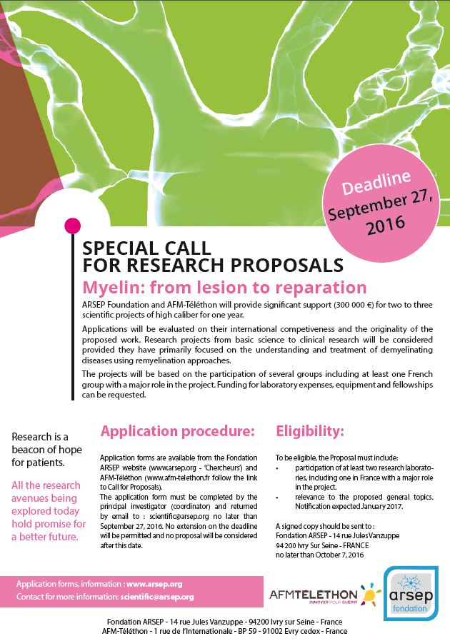 research call proposals