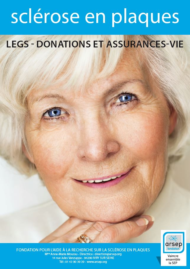 Brochure Legs Donations et assurances vie Fondation ARSEP
